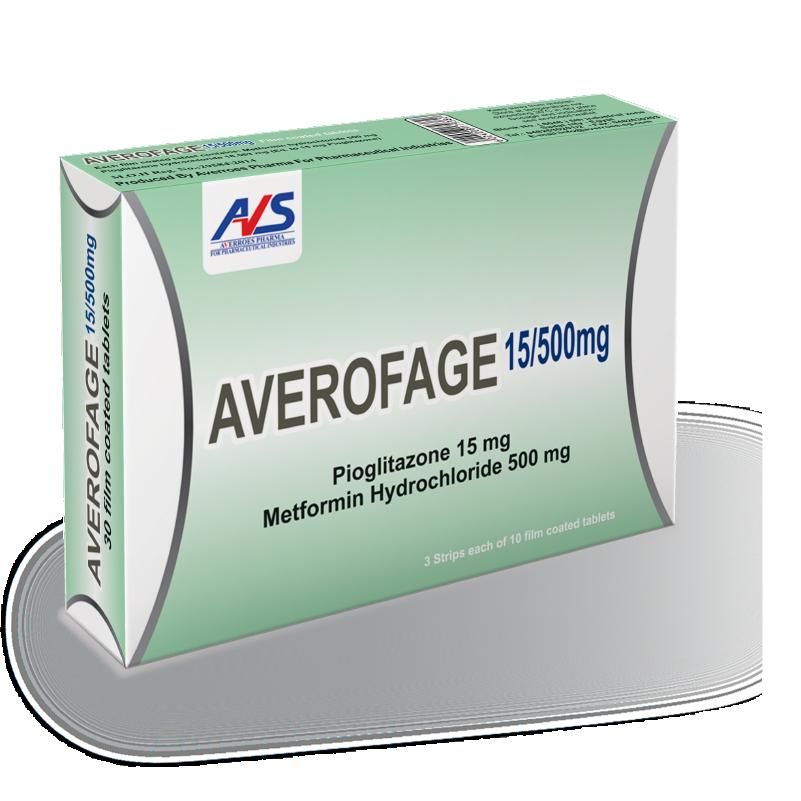Averofage 15/500 mg