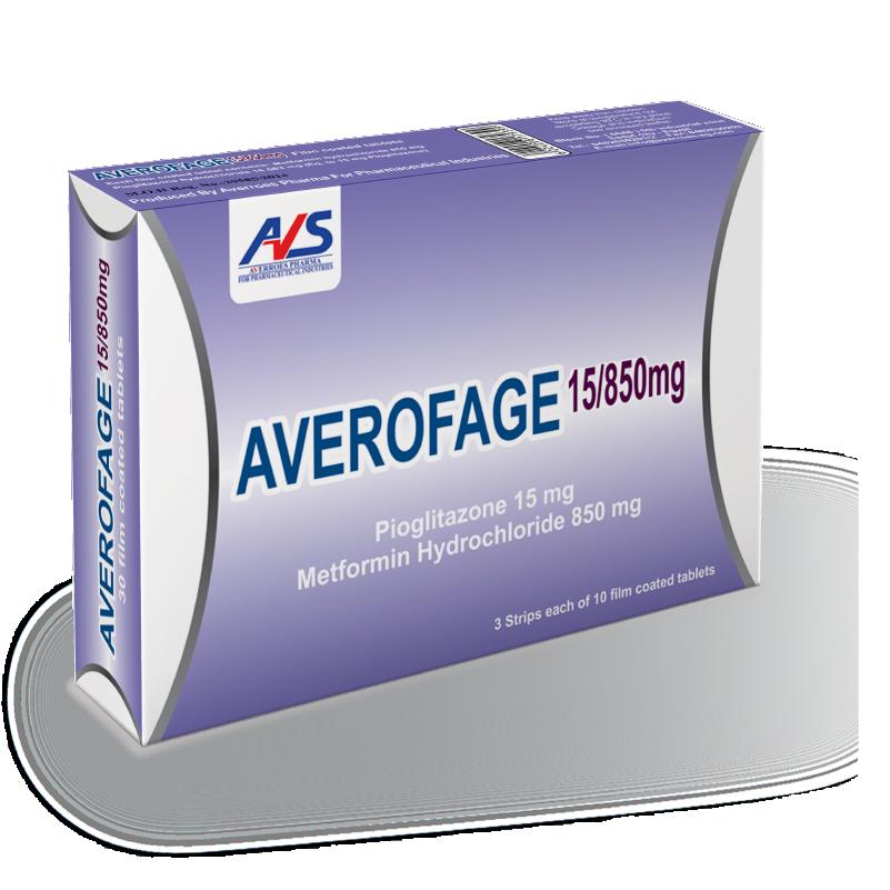 Averofage 15/850 mg